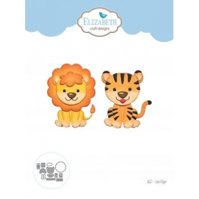 Elizabeth Craft Designs - Lion/Tiger