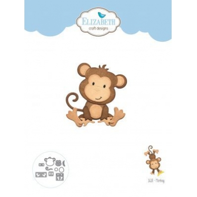 Elizabeth Craft Designs - Monkey