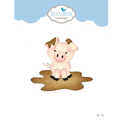 Elizabeth Craft Designs - Pig