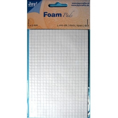 Joy Crafts - Foam Pads 2mm - 5x5mm