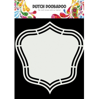 Dutch Doobadoo Dutch Shape Art Wilma A5