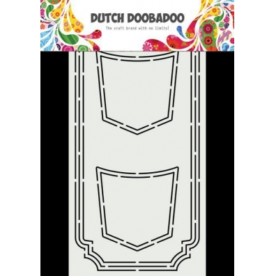 Dutch Doobadoo Dutch Card Art Slimline Jeans