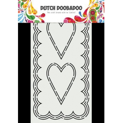Dutch Doobadoo Dutch Card Art Slimline Harten