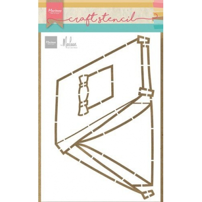 Marianne Design Craft Stencil - Tent by Marleen