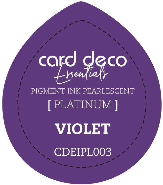 Card Deco Essentials Fast - Drying Pigment Ink Pearlescent - Violet