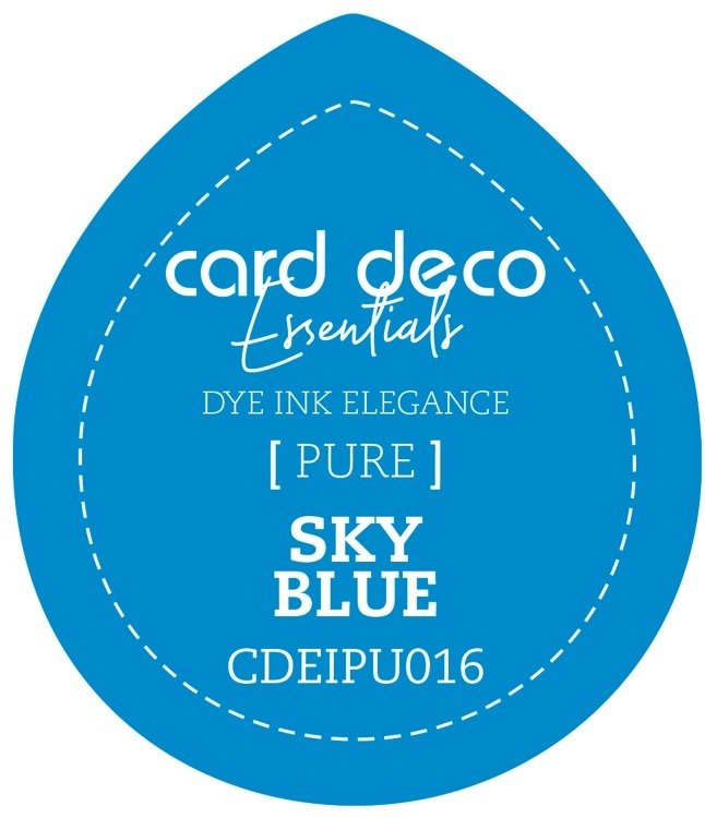 Card Deco Essentials Fade - Resistant Dye Ink  - Sky Blue