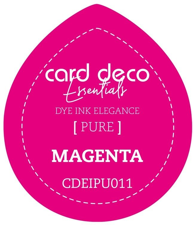 Card Deco Essentials Fade - Resistant Dye Ink  - Magenta