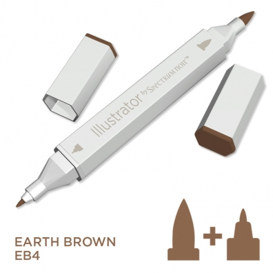 Illustrator Alcohol Marker - Earth Brown