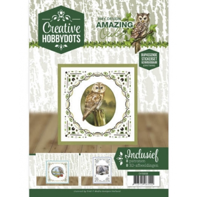Creative Hobbydots 6 - Amy Design. -  Amazing Owls