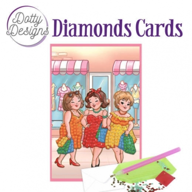 Diamonds Cards - Bubbly Girls