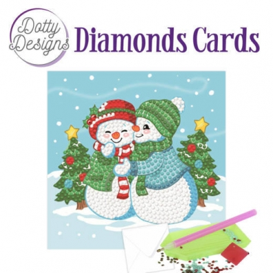 Diamonds Cards - sneeuwpoppen