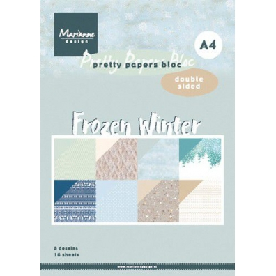 Marianne Design Paper Pad Frozen Winter