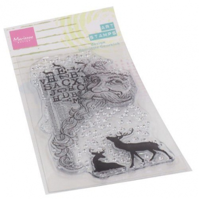 Marianne Design Clear Stamps Art. Stamp - Kerstman