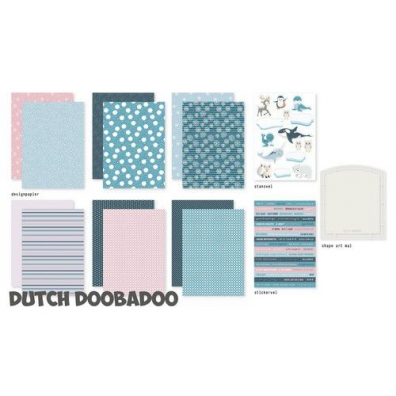 Dutch Doobadoo Crafty Kit Frosty Winter