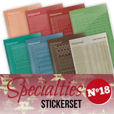 Specialities stickers nr 18