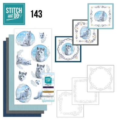 Stitch and Do 143- Amy Design - Winter Foxes