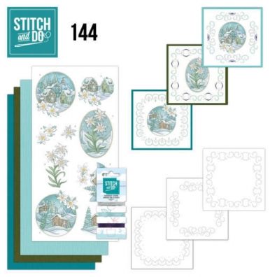 Stitch and Do 144 - Yvonne Creations - Wintertime