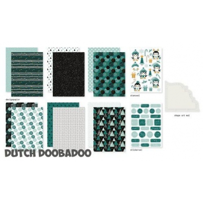 Dutch Doobadoo Crafty Kit Christmas mood