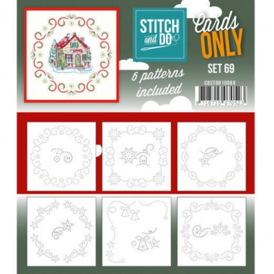 Stitch and Do - Cards Only - set 69