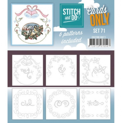 Stitch and Do - Cards Only - set 71