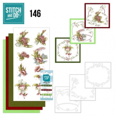 Stitch and Do 146 - Pretty Flowers