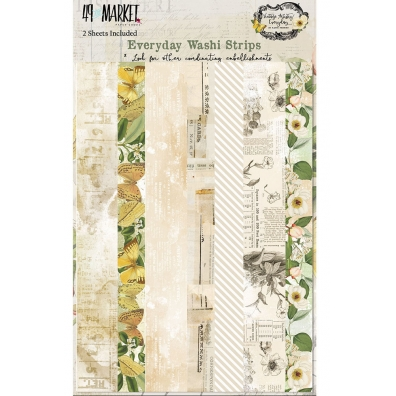 49 and Market - Vintage Artistry Everyday Collection - Washi Strips