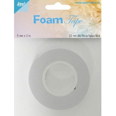 JoyCrafts - Foam Tape - 1,5mm dik - 5mmx2m