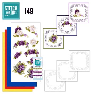 Stitch and Do 149 - Romantic Roses