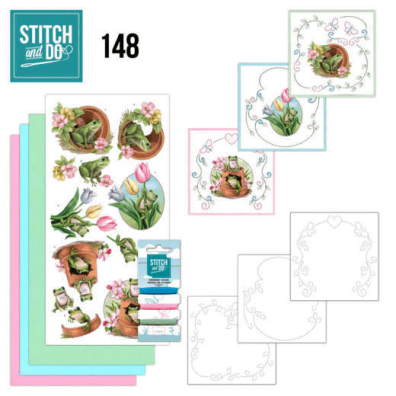 Stitch and Do 148 - Friendly Frogs