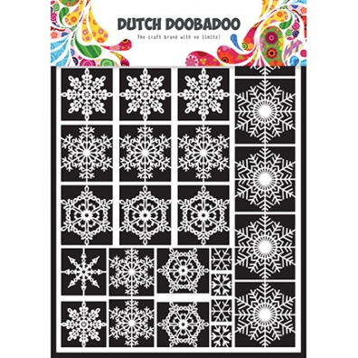Dutch Doobadoo  - Dutch Paper Art - Snowflakes